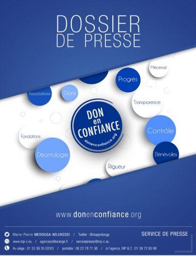 Dossier de presse Don en confiance