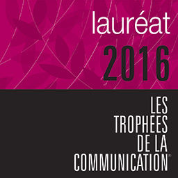 Trophée - Communication_logo-laureat-2016